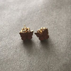 JUICY COUTURE butterfly earrings